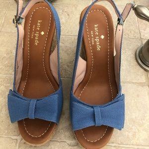 *Never Worn* Blue Kate Spade Heels | Size 7